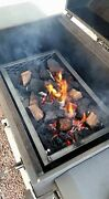 Bbq Smoker Charcoal Wood Basket Full Grill Size