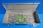 30x Stryker Howmedica Osteonics Orthopedic Synthes Assorted Set W/ Case