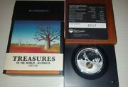 2014 Treasures Of The World Australia 1oz Silver Proof Locket Coin With Gold