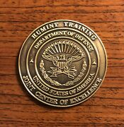 The Ranch Humint Training Joint Center Of Excellence Ft. Huachuca Challenge Coin