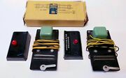 American Flyer 706 2 Remote Uncoupler And 2 Buttons Train Controls Not Tested
