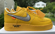 Nike X Off White Air Force 1 Andrsquo07/ow Ica University Gold Size 9.5 Dd1876700
