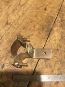 Antique Motorcycle Harley Indian Excelsior Henderson Ace Nos Nickel Bracket Accs