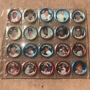 Vintage 1960's Salada/old London/1964 All-stars Collector Coins Lot Of 20
