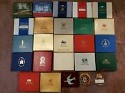 1st 25 Years White House Historical Assoc. Christmas Ornaments 1981-2005