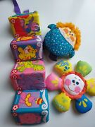 Vintage Fisher Price And Playskool Baby Toys Fabric Rattles 1970s And 1980s Play