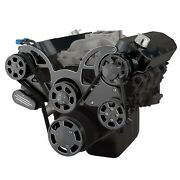 Black Diamond Serpentine System For Big Block Chevy Ac And Power Steering