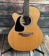 Takamine Left Handed P1nc Lh Pro Series Acoustic Electric Guitar- Blem
