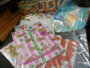 Lot Vintage Wrapping Paper Gift Wrap Wedding Shower Kids Birthday