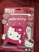 New Hello Kitty Electronic Password Diary 2013 Voice Activated Invisible Ink Wow
