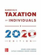 Mcgraw-hill's Taxation Of Individuals 2020 Edition By John A. Barrick, Ronald...