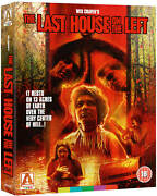 Last House On The Left 3-disc Limited Edition Blu-ray Arrow Video Brand New