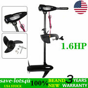 85lbs Electric Thrust Outboard Engine 1.6hp Fishing Boat Motor Propeller