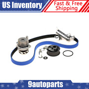 Gates 4 Piece Hp Timing Belt Component Kit And Water Pump For 00-05 Vw Jetta 1.8l