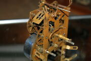 Vintage Grandfather Clock Movement Parts Or Repair New Haven