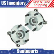 Timken Wheel Bearing And Hub Front Pair Set For Gs300 Gs350 Is250 Is350 Awd New