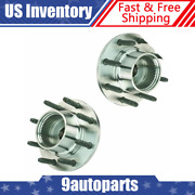 Timken 515021 Front Wheel Hub And Bearing Pair For Ford F250 F350 F450 Truck 4wd
