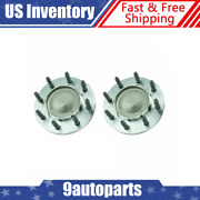 Front Wheel Hub And Bearing Assembly Pair Set Timken For Dodge Ram Pickup 2wd 2x4