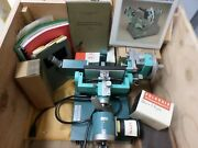 Vintage Huber Buerger Precession Goniometer X-ray Camera 205 206 W/ Accessories