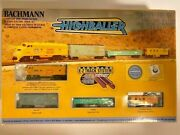 Rarely Used Complete High Baller N Scale Electric Train Set W/ E-z Track System