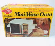 Vintage 1981 Betty Crocker Easy Bake Mini Wave Oven Kenner Box And Manuals 15710