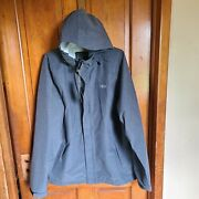 Aftco Solitude Fishing Jacket - Weatherproof And Water Repellant - Size Large