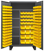 Durham Hdjc244878-156-4s95 Maintenance Cabinet With Bins And Shelves 48x24x78