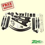6 Front And Rear Radius Arm Suspension Lift Kit For Ford F350 4wd 2011-16 Zone