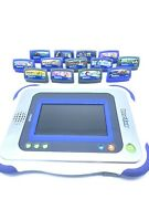 Vtech Innotab Blue Silver Learning Tablet W/ Backpack And 13 Games