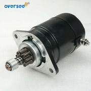 9 Tooth Starter Motor 346-76010-0 For Tohatsu Outboard M25c M30c M40c 34760100