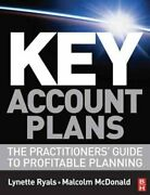 Key Account Plans By Lynette Ryals 9780750683678 | Brand New | Free Us Shipping