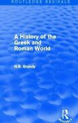 A History Of The Greek And Roman World By George B. Grundy 9781138016323