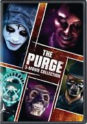 The Purge 5-movie Collection Dvd Ethan Hawke New