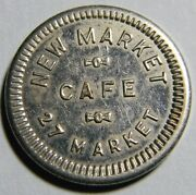 Sioux City New Market Cafe Good For 5¢ In Trade Token 01278