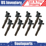 Delphi Gn10233 Engine Ignition Coil Kit 8 Piece Set For Ford Lincoln Mercury New