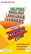 Helping English Language Learners Meet The Common Core Assessme... 9781138171442