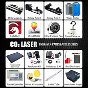 Co2 Laser Engraver Accessories - Water Chiller Rotary Axis Autofocus Coreldraw