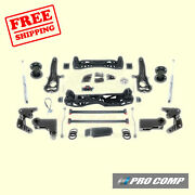 6 Lift Kit W/spacers And Rear Pro Runner Shocks 2012-18 Ram 1500 Gas 4wd Pro Comp