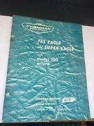 Rare 1961 Cushman Motor Vehicles 765 Eagle And Super Scooter 18 Page Owners Manual
