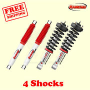 Kit 4 Front And Rear Quickleveling Strut Rs5000 Shocks For 04-15 Titan Rancho