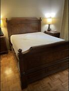 Rare Ethan Allen Townhouse Collection Queen Size Bed Frame