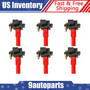 Delphi Gn10435 Ignition Coils Cop Set Of 6 For Subaru Outback Legacy Tribeca New
