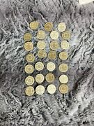 Lot Of Sales Tax Token Oklahoma For Old Age Assistance 1 Value Cardboard Tokens