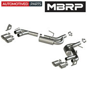 Mbrp S7039304 Armor Pro Axle Back Exhaust For 2016-2021 Chevrolet Camaro 3.6l V6