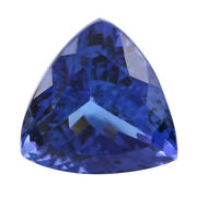 Loose Gemstone Aaaa Tanzanite Trillion Natural For Jewelry Gift Making Ct 7.50