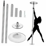 Portable Spinning Stripper Dance Pole For Home Gym Party Pub Fitness