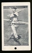 Weand039ve Never Seen It 1950 Hub Apparel Ted Williams Clothing Tag Card Newton Ma