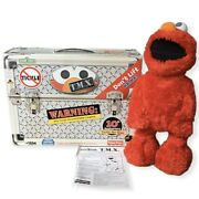 Fisher-price Sesame Street 10th Anniversary Tickle Me Elmo Tested And Works 2006