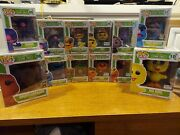 Sesame Street Funko Pop Set - Complete With Rare Variants Comic Conand039s/flocked