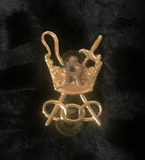 Ioof Independent Order Of Odd Fellows Patriarchs Militant Brass Pin